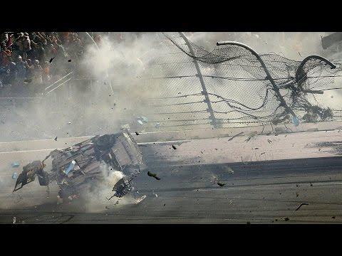 NASCAR 2015 Coke Zero 400 @ Daytona Finish - Austin Dillon Huge Crash [Live]