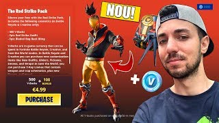 * NEW * Buy THE RED STRIKE PACK! Fortnite Romania