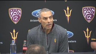 ASU football coach Herm Edwards discusses early signing class