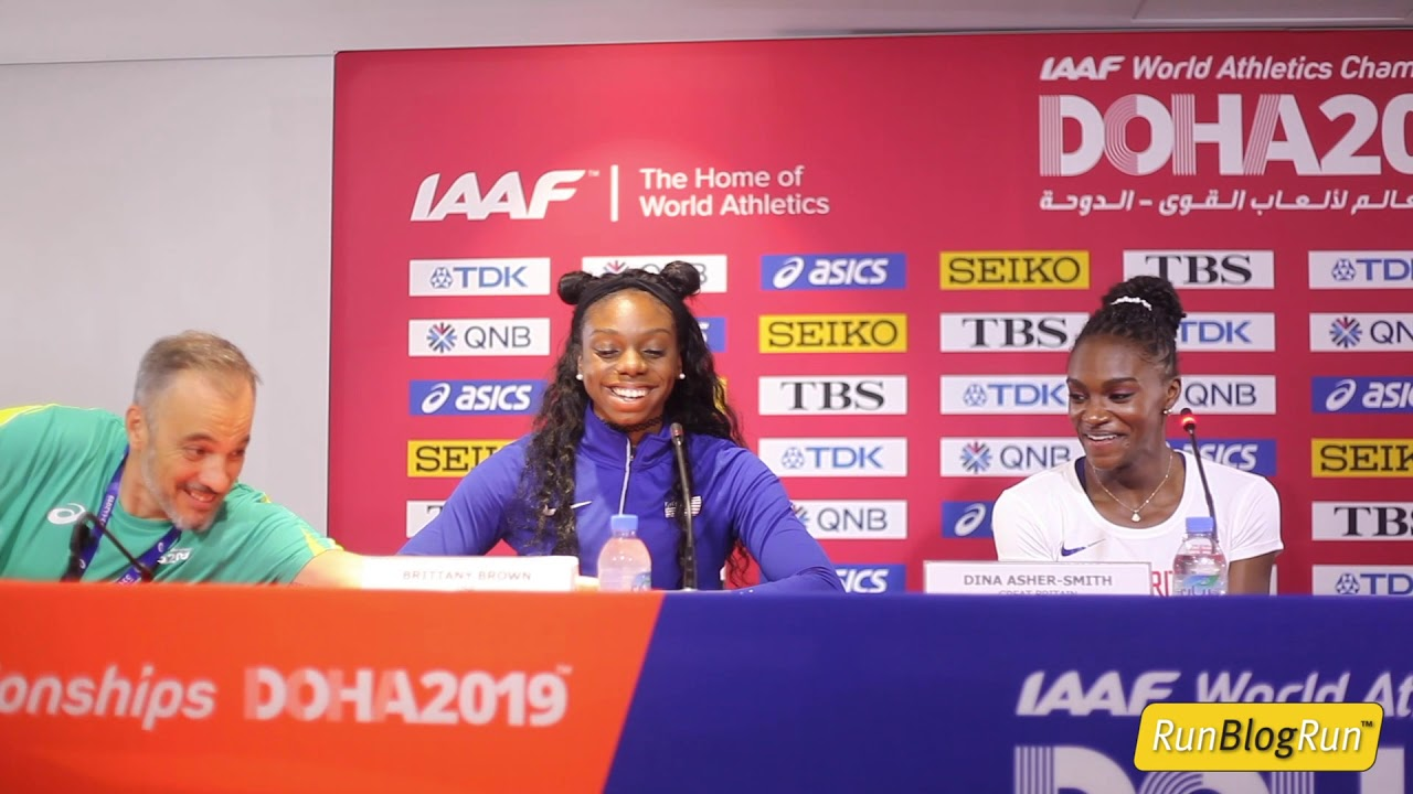 Doha WC 2019 - Women's 200m Final Press Conference