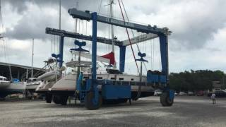 Calypso Antares 44 Sailboat Haul Out Time-Lapse Video