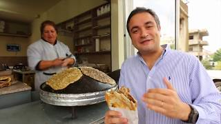 Delicious Lebanese Breakfast: SAJ Manakish!