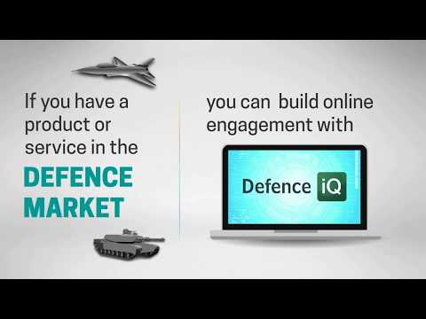Defence IQ: Helping your business develop online