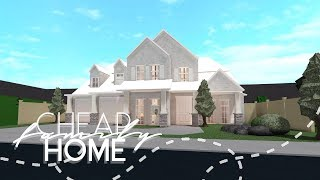 Roblox Houses For 50k Mini Mansion Roblox Bloxburg Cheap Family Home House Build Youtube