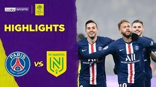 PSG 2-0 Nantes | Ligue 1 19/20 Match Highlights
