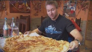 Furious World Tour | Germany - 10lb Pizza Challenge, 6lb Steak, Super Cars & More | Furious Pete