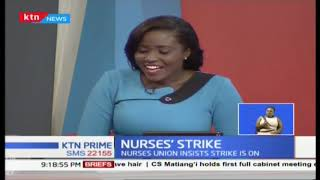 Seth Panyako: Nurses' strike is still on as planned