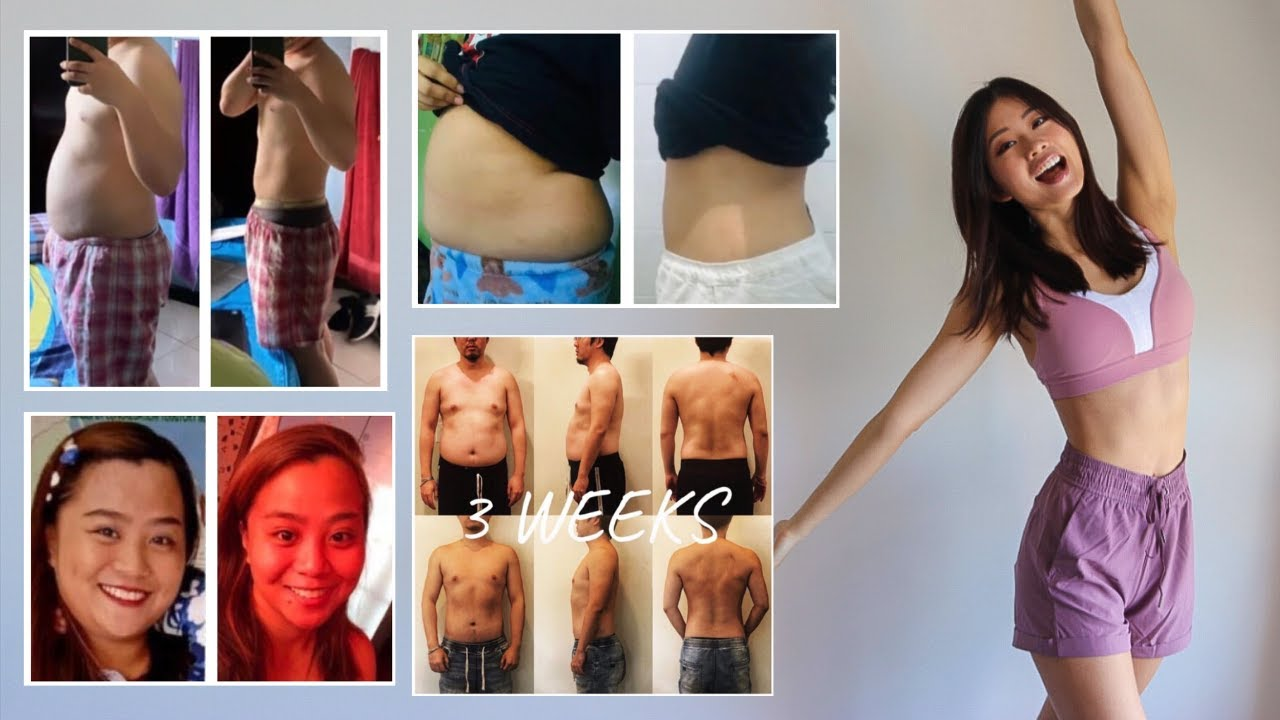 BEFORE & AFTER RESULTS USING EMI WONG'S WORKOUT PROGRAMS! #EmiTransform