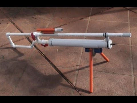 The Best Homemade Air Gun On Youtube Youtube