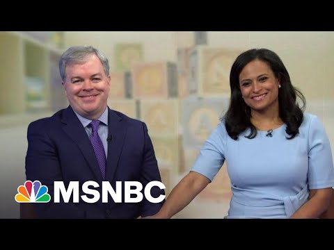 Kristen Welker And Husband John Share Their Journey To Become Expectant Parents   Andrea Mitchell