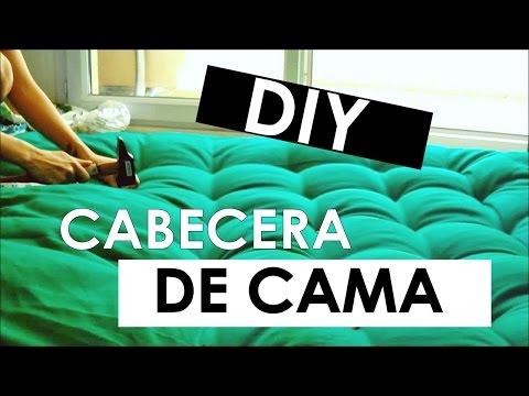 Camas ocultas doovi - Como hacer una cabecera de cama acolchada ...