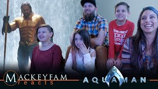 AQUAMAN - Final Trailer- REACTION and REVIEW!!!