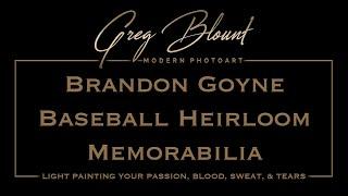 Brandon Goyne Baseball Memorabilia