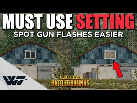 GUIDE: You MUST use this GRAPHICS SETTING (side by side comparison)! -PUBG