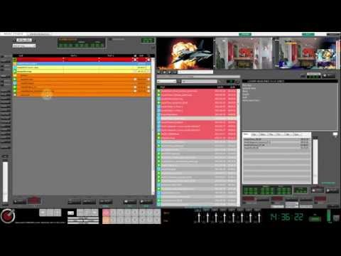 News Studio Tutorial: Rundown list Create and editing