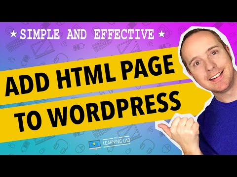 How to add an HTML page to WordPress – And Get Free LeadPage HTML Templates