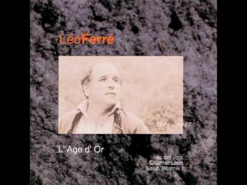 Leo Ferre C'est un air