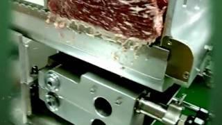 잔육최소화 특허 우진기계 냉장육절기
