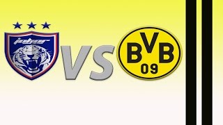 Video Highlight JDT VS Borussia Dortmund download MP3, 3GP, MP4, WEBM, AVI, FLV April 2018