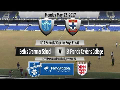 PlayStation U14 Schools' Cup for Boys Beth's Grammar School v St Francis Xavier's College