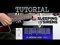 Cómo Tocar The Strays De Sleeping With Sirens Tutorial Guitarra How To Play mp3