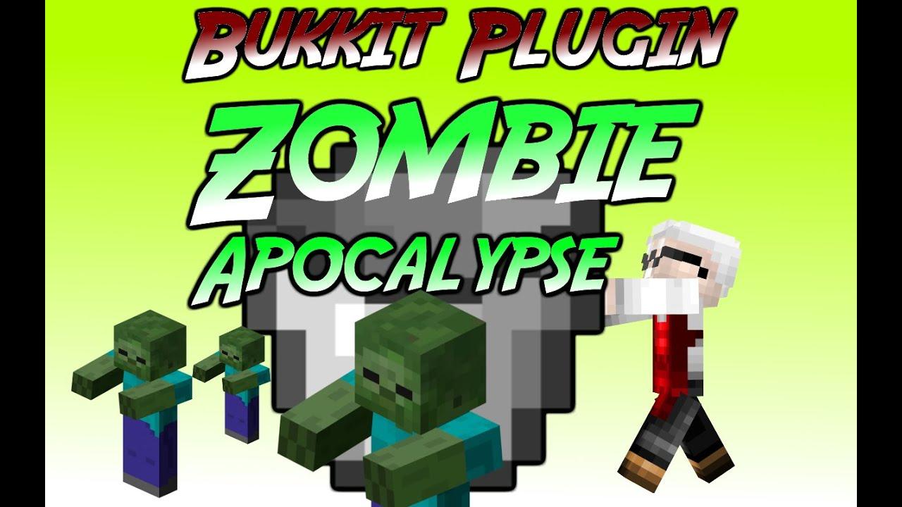 "Minecraft Bukkit Plugins ""Zombie Apocalypse"""