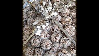 Fancy Date Balls - Khajoor - Medjool