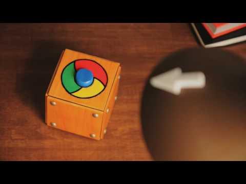 Chrome starts fast (pointer)