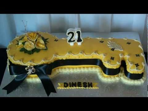 Key Birthday Cake - YouTube