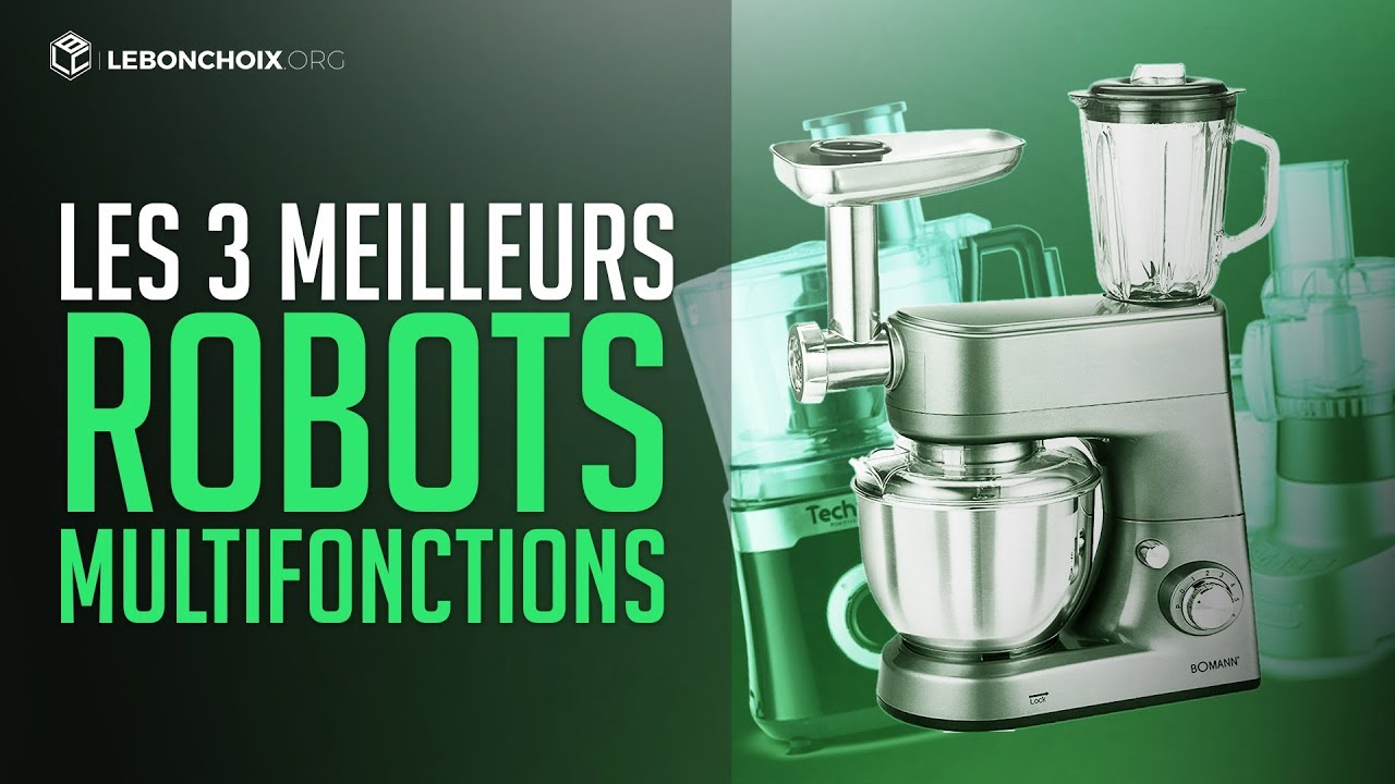 top 3 des meilleurs robots multifonctions cuisine comparatif test youtube. Black Bedroom Furniture Sets. Home Design Ideas