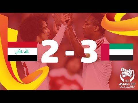 3/4 Place: Iraq vs UAE- AFC Asian Cup Australia 2015