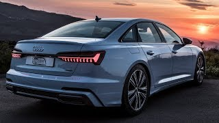 FINALLY! - THE 2019 AUDI A6  (340HP/500NM,V6Turbo) - IMPRESSIVE! - OLED, 4 wheel steering, and more.