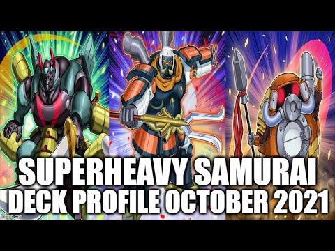 SUPERHEAVY SAMURAI DECK PROFILE (OCTOBER 2021) YUGIOH!