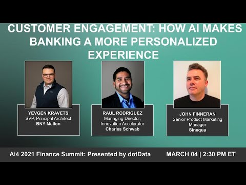 Panel - Customer Engagement: How AI Makes Banking a More Personalized Experience