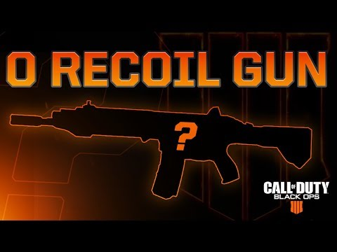 Black Ops 4: 0 Recoil Gun (Cheat Code)