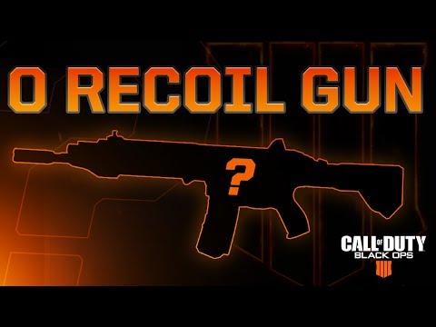 Black Ops 4: 0 Recoil Gun (Cheat Code)