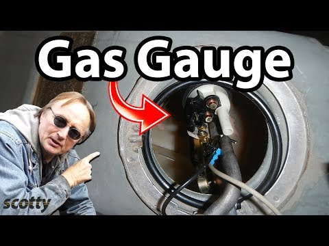 how-to-fix-a-gas-gauge-(sending-unit-replacement)---diy-car-repair-with-scotty-kilmer