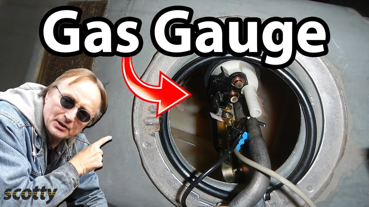 How To Fix A Gas Gauge Sending Unit Replacement Diy Car Repair Fuel Wiring Diagram Diamante