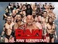 All WWE SUPERSTARS RAW 2017 VCL #1