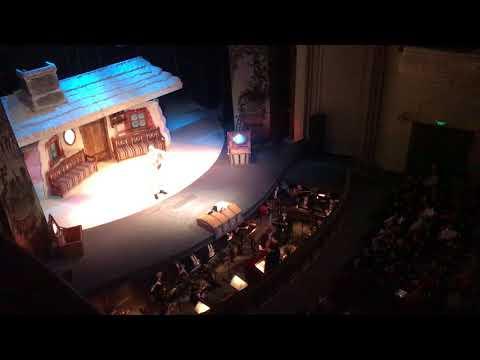 Zankovetska Theater (Lviv, Ukraine). Christmas Night by Gogol