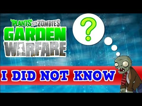 "5 Things You May Not Know About Plants vs Zombies Garden Warfare ""Tip Video"""