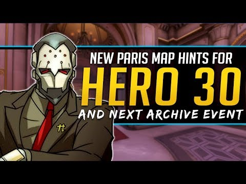 Overwatch New Hero 30 Hints & Next Archive Event
