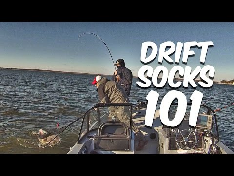 Drift Sock 101 Boat Control For Drift Fishing Youtube
