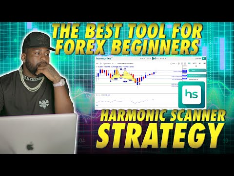 THE BEST FOREX TOOL FOR BEGINNERS (90% Accurate Harmonic Scanner 😳)