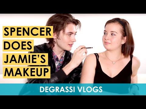 Degrassi Vlogs: Spencer Does Jamie's Makeup