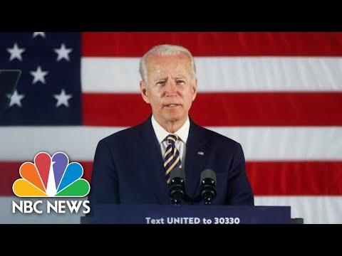 Joe Biden Delivers Remarks In Wisconsin   NBC News