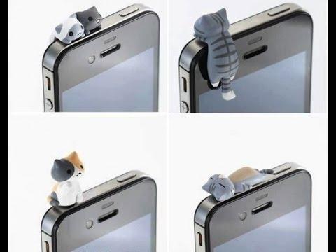 Заглушки для телефонов своими руками