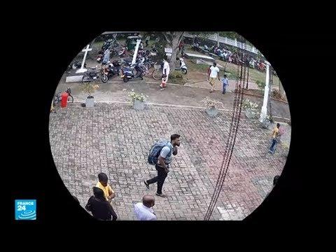 كاميرات المراقبة ترصد أحد منفذي تفجيرات سيريلانكا الدامية  - نشر قبل 1 ساعة