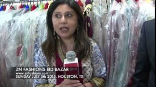 ZN Fashions Eid Bazar Houston Texas