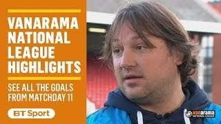 Vanarama National League Highlights Show | Matchday 11